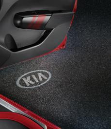 Підсвітка зони посадки (логотип KIA), к-кт на передні двері